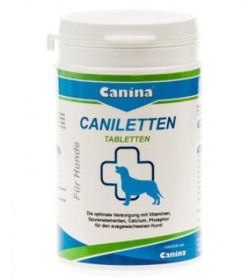 Canina Caniletten кальцийсодержащий препарат
