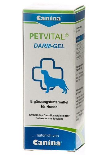 Canina Petvital Darm-Gel пищевая добавка для собак и кошек
