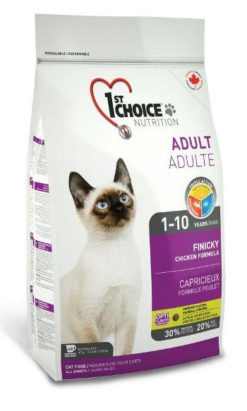1st Choice Adult Finicky сухой корм для взрослых привередливых кошек SALE