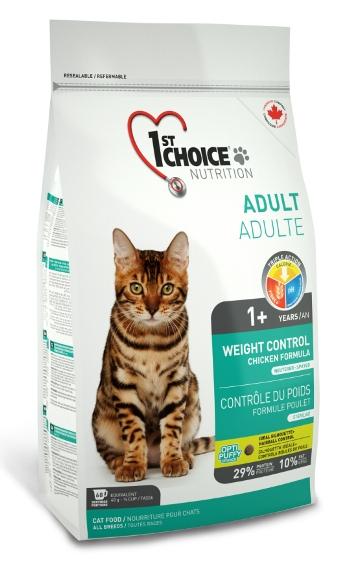 1st Choice Weight Control сухой корм для стерилизованных кошек склонных к полноте