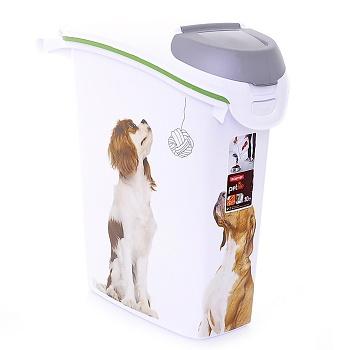 """Curver PetLife контейнер для корма """"Собачьи новости"""" 10 кг/23 л"""