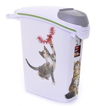 "Curver PetLife контейнер для корма ""Кошачьи Цап-Царапки"" 10 кг/23 л"