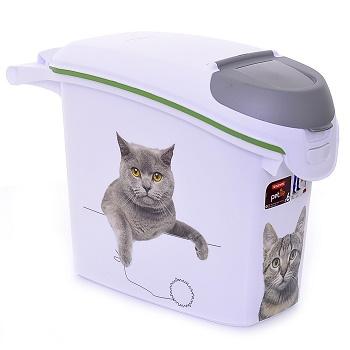 """Curver PetLife контейнер для корма """"Сладкие котята"""" 6 кг/15 л"""