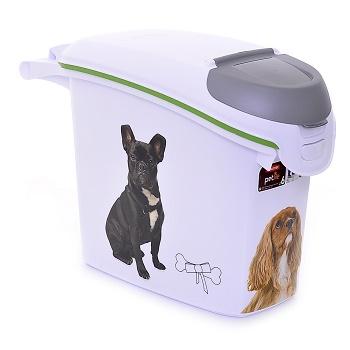 """Curver PetLife контейнер для корма """"Веселые щенята"""" 6 кг/15 л"""