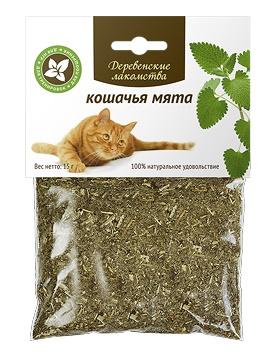 Деревенские лакомства кошачья мята 15 г