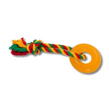 Doglike игрушка-эластомер для собак Кольцо Мини с канатом