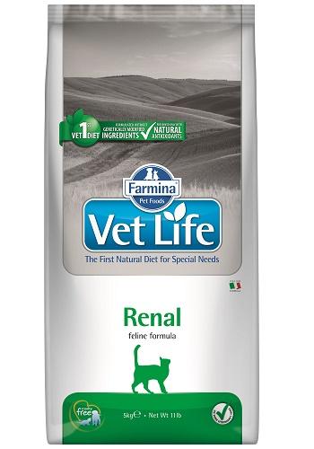 Farmina Vet Life Renal диета для кошек при хронической почечной недостаточности