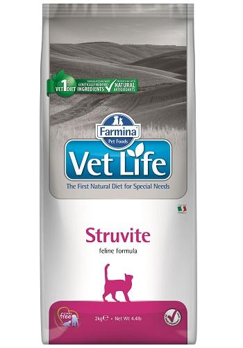 Farmina Vet Life Struvite диета для кошек при струвитном типе МКБ