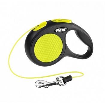Flexi Neon поводок-рулетка тросовый XS (3 м, 8 кг)