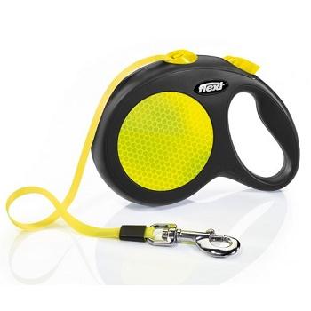 Flexi Neon поводок-рулетка ременной L (5 м, 50 кг)