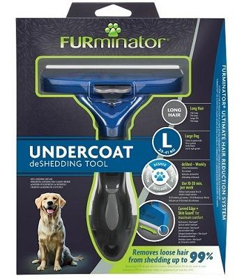 FURminator Dog L Long Hair для крупных длинношерстных собак