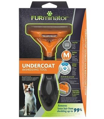 FURminator Dog M Long Hair для средних длинношерстных собак