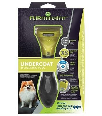FURminator Dog XS Long Hair для карликовых длинношерстных собак
