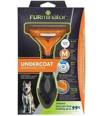 FURminator Dog M Short Hair для средних короткошерстных собак