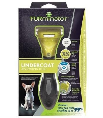FURminator Dog XS Short Hair для карликовых короткошерстных собак