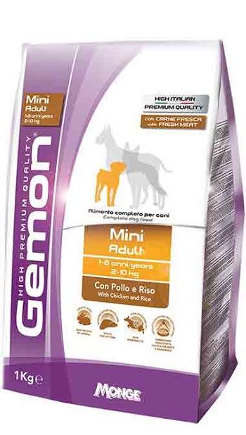 Gemon Adult Mini сухой корм для взрослых собак мелких пород с курицей