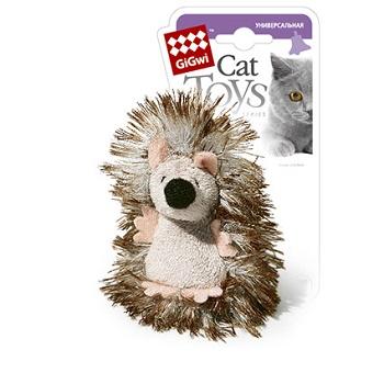 GiGwi игрушка для кошек Ежик с погремушкой 7 см (75029)