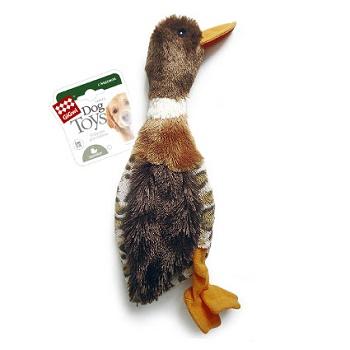 GiGwi игрушка для собак Утка с горловой пищалкой 35 см (75254)