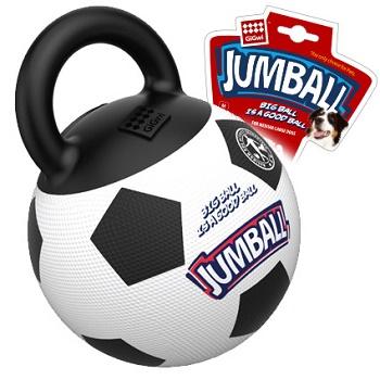 GiGwi игрушка для собак Jumball футбольный мяч 26 см (75365)