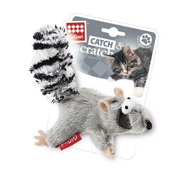 GiGwi игрушка для кошек Белка с кошачьей мятой 8 см (75384)