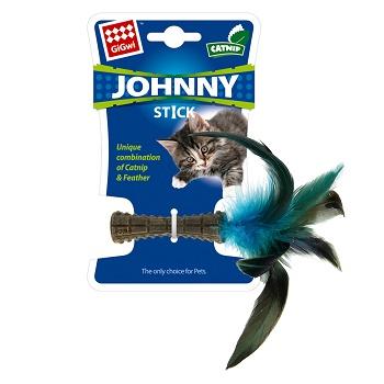 GiGwi игрушка для кошек Johnny Stick прессованная кошачья мята 8 см (75399)