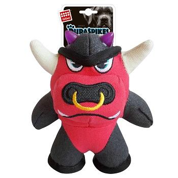 GiGwi игрушка для собак Duraspikes Бык 17 см (75447)