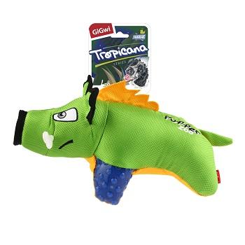 GiGwi игрушка для собак Кабан с пищалкой 28 см (75502)