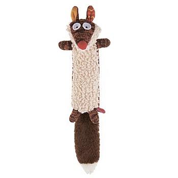 GiGwi игрушка для собак Белка с пищалкой (75535)