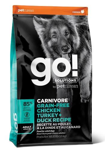 GO Solutions Carnivore Adult сухой беззерновой корм для взрослых собак 4 вида мяса SALE