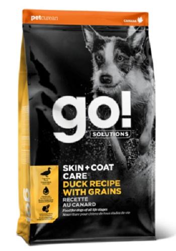 GO Solutions Skin+Coat Care сухой корм для собак и щенков с уткой и овсянкой SALE