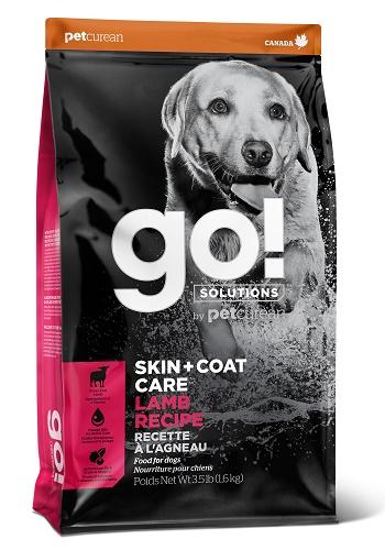 GO Solutions Skin+Coat Care сухой корм для собак и щенков с ягнёнком