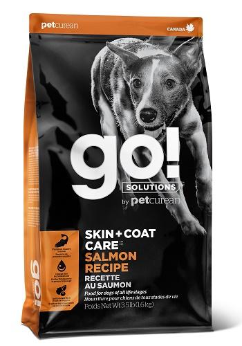 GO Solutions Skin+Coat Care сухой корм для собак и щенков с лососем и овсянкой