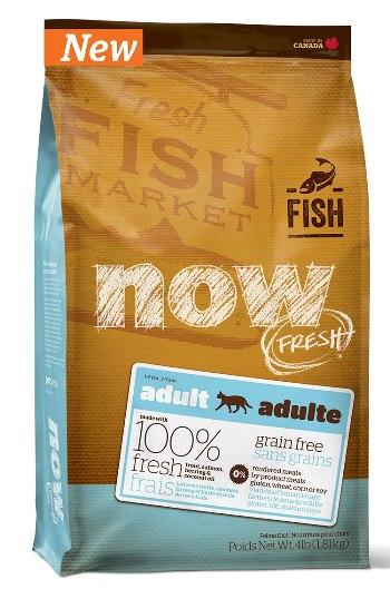 NOW! Fresh Adult сухой беззерновой корм для взрослых кошек с форелью и лососем