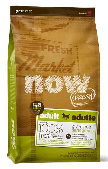NOW! Fresh Adult Small Breed сухой беззерновой корм для взрослых собак мелких пород с индейкой
