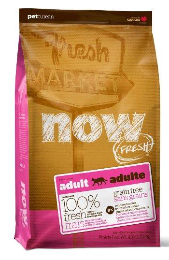 NOW! Fresh Adult сухой беззерновой корм для взрослых кошек с индейкой