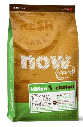 NOW! Fresh Kitten сухой беззерновой корм для котят с индейкой
