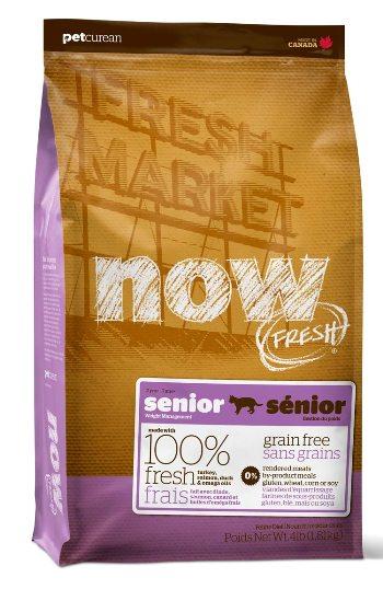 NOW! Fresh Senior Контроль веса сухой беззерновой корм для кошек с индейкой