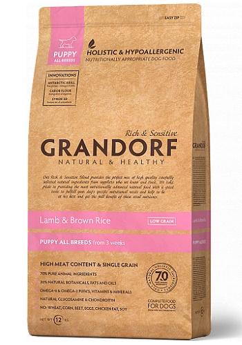Grandorf Puppy All Breeds Lamb & Rice сухой корм для щенков всех пород