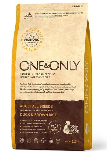 One & Only Adult Duck сухой корм для взрослых собак всех пород с уткой