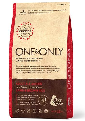 One & Only Adult Lamb сухой корм для взрослых собак всех пород с ягненком