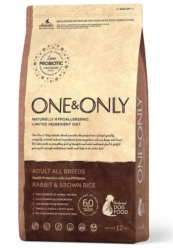 One & Only Adult Rabbit сухой корм для взрослых собак всех пород с кроликом