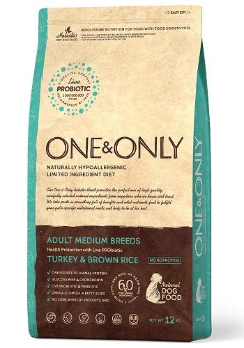 One & Only Adult Turkey сухой корм для взрослых собак всех пород с индейкой