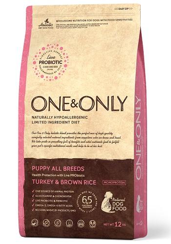 One & Only Puppy сухой корм для щенков всех пород с индейкой