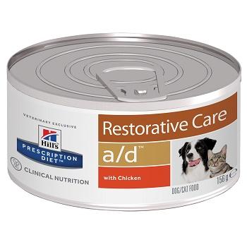 Hill's Prescription Diet A/D Restorative Care влажный корм для собак и кошек в период восстановления