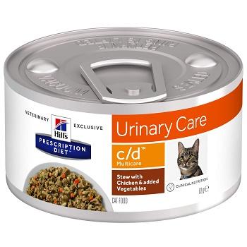 Hill's Prescription Diet C/D Multicare Urinary Care Рагу влажный корм для кошек при МКБ