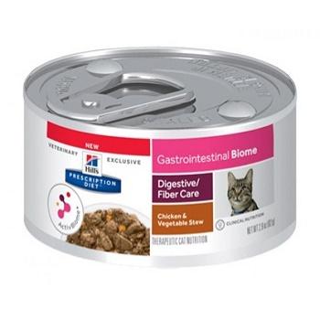 Hill's Prescription Diet Gastrointestinal Biome влажный корм для кошек при расстройствах пищеварения