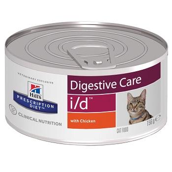 Hill's Prescription Diet I/D Digestive Care влажный корм для кошек при заболеваниях ЖКТ