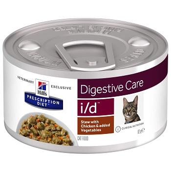 Hill's Prescription Diet I/D Digestive Care Рагу влажный корм для кошек при заболеваниях ЖКТ