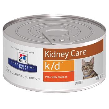 Hill's Prescription Diet K/D Kidney Care влажный корм для кошек при заболеваниях почек