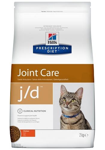 Hill's Prescription Diet J/D Joint Care сухой корм для кошек при заболеваниях суставов